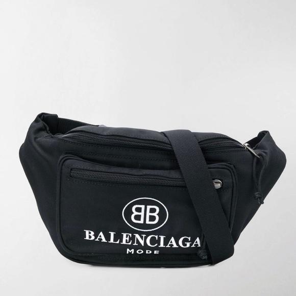 Balenciaga Bb Mode Waist Bag Explorer